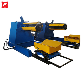 Hydraulic Decoiler With Car