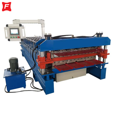 Rib Type Double Deck Forming Machine