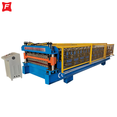 CE Double Deck Forming Machine