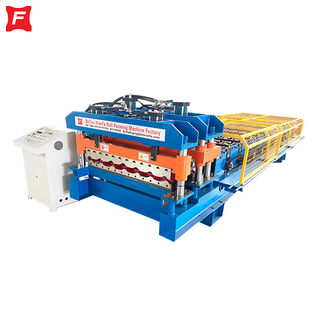 Monterrey Glazed Tile Roll Forming Machine