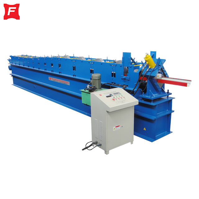 Punching Gutter Roll Forming Machine